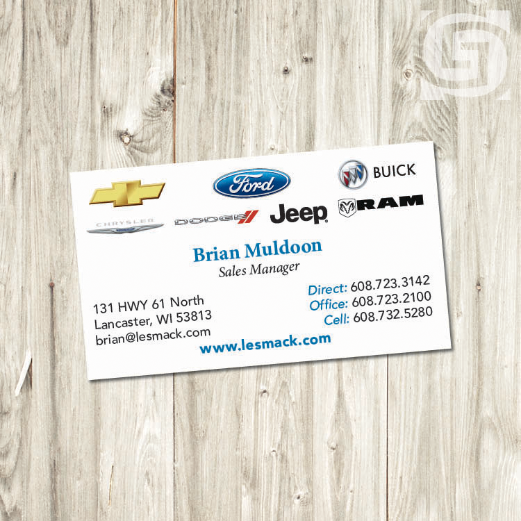 Business Cards - Wolf\'s Grantland Graphics